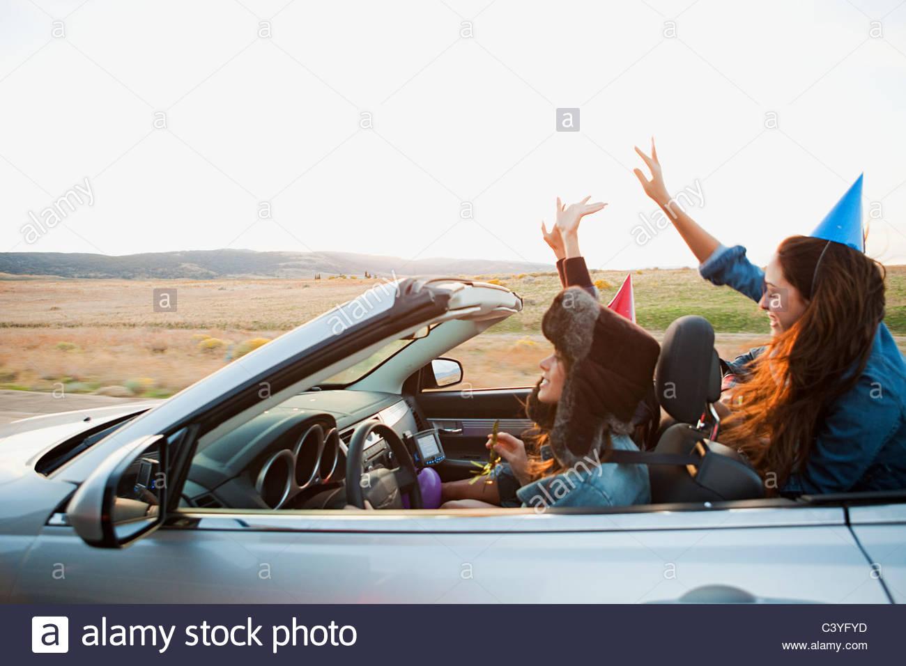 Was in einem Cabrio zu tragen