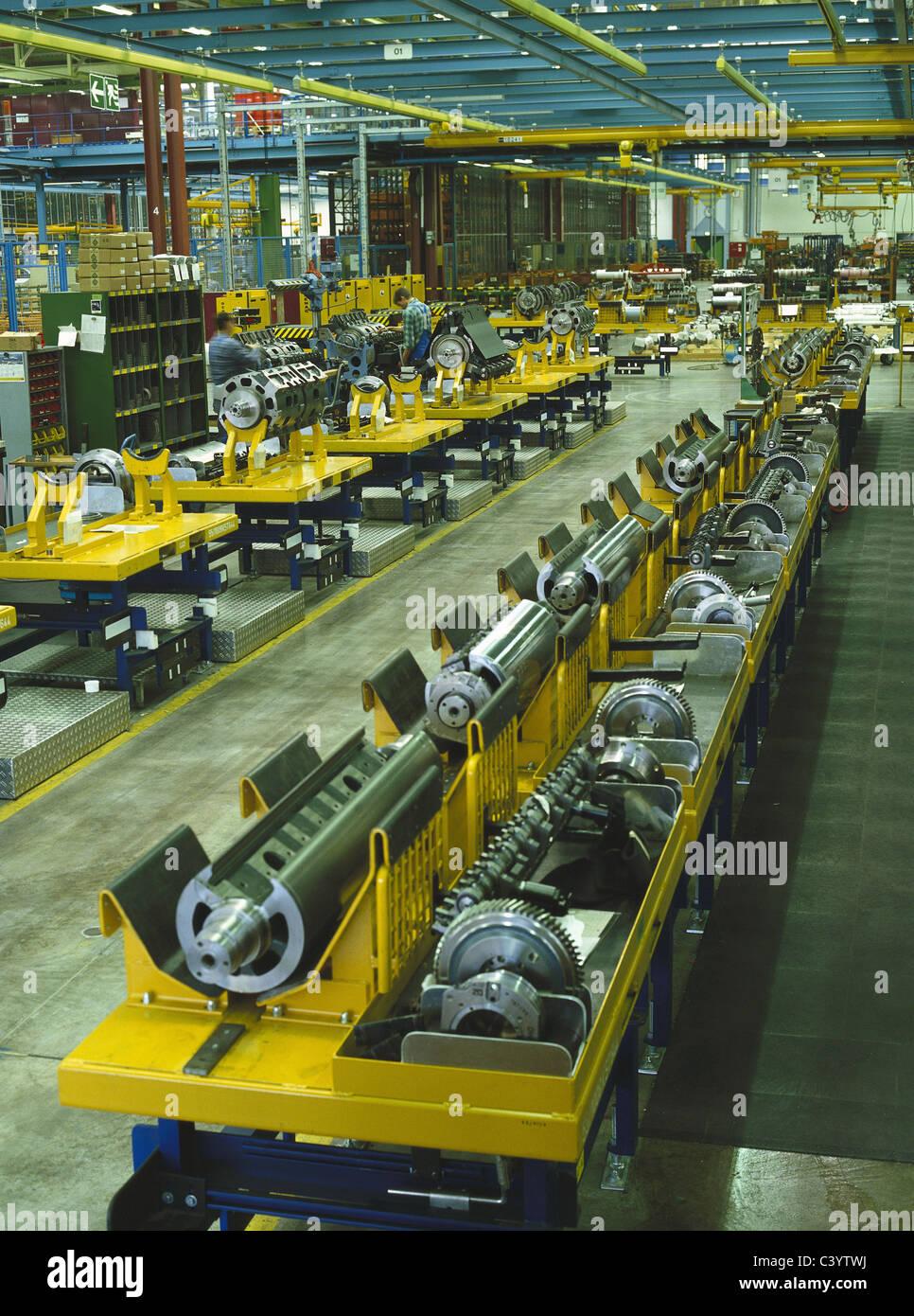 Architektur, Montage, Montage, Gebäude, Bau, Wirtschaft, Technik, Europa, europäische, Fabriken, Fabrik, Stockbild
