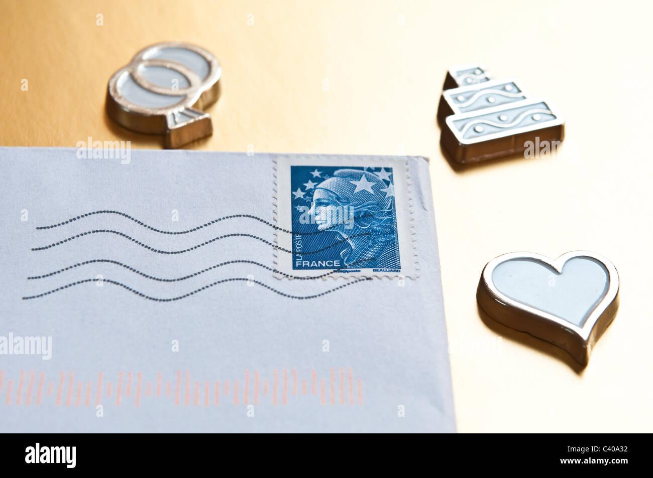 Französischer Brief Stockfotos Französischer Brief Bilder Alamy