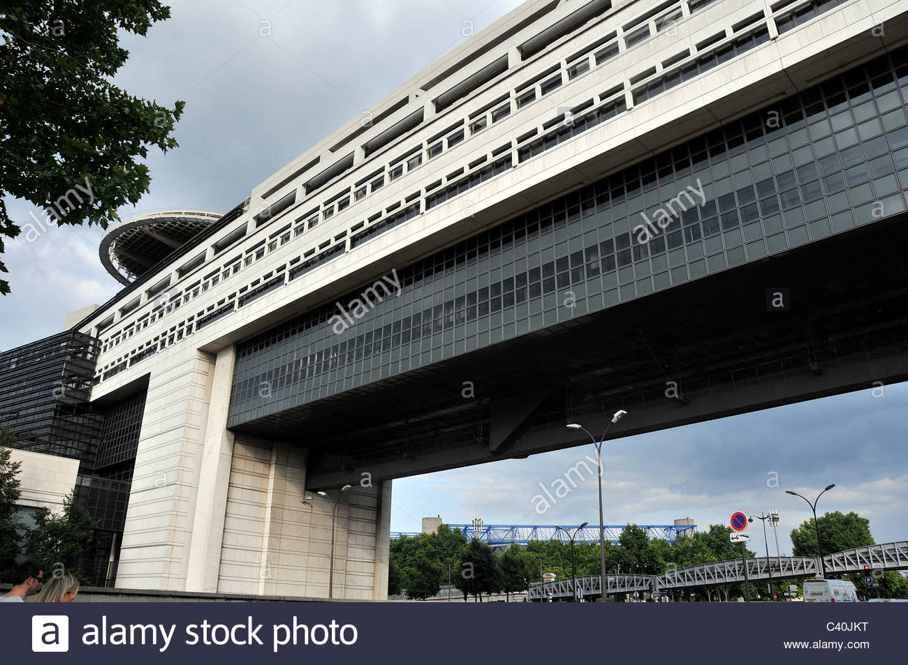 Wirtschaft und Finanzen Ministerium, Bercy, Paris, Frankreich Stockbild