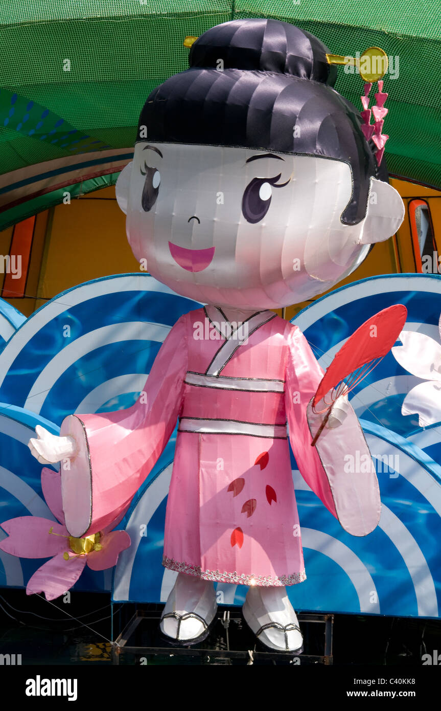 Wunderbar Outdoorstoffe Das Beste Von Glückliches Mädchen Hong Kong Skulptur Licht Cartoon