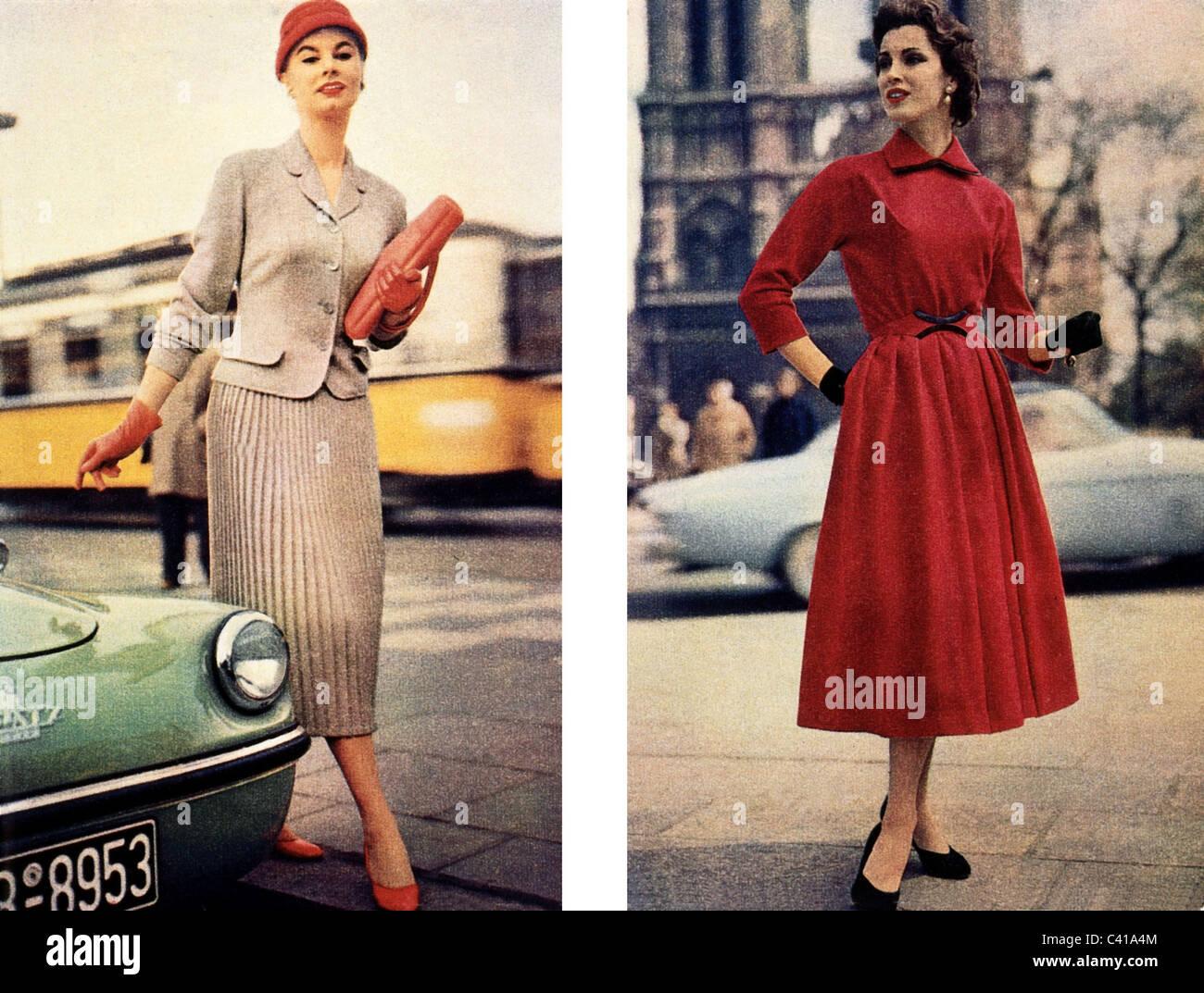 50s Fashion Stockfotos & 50s Fashion Bilder Alamy