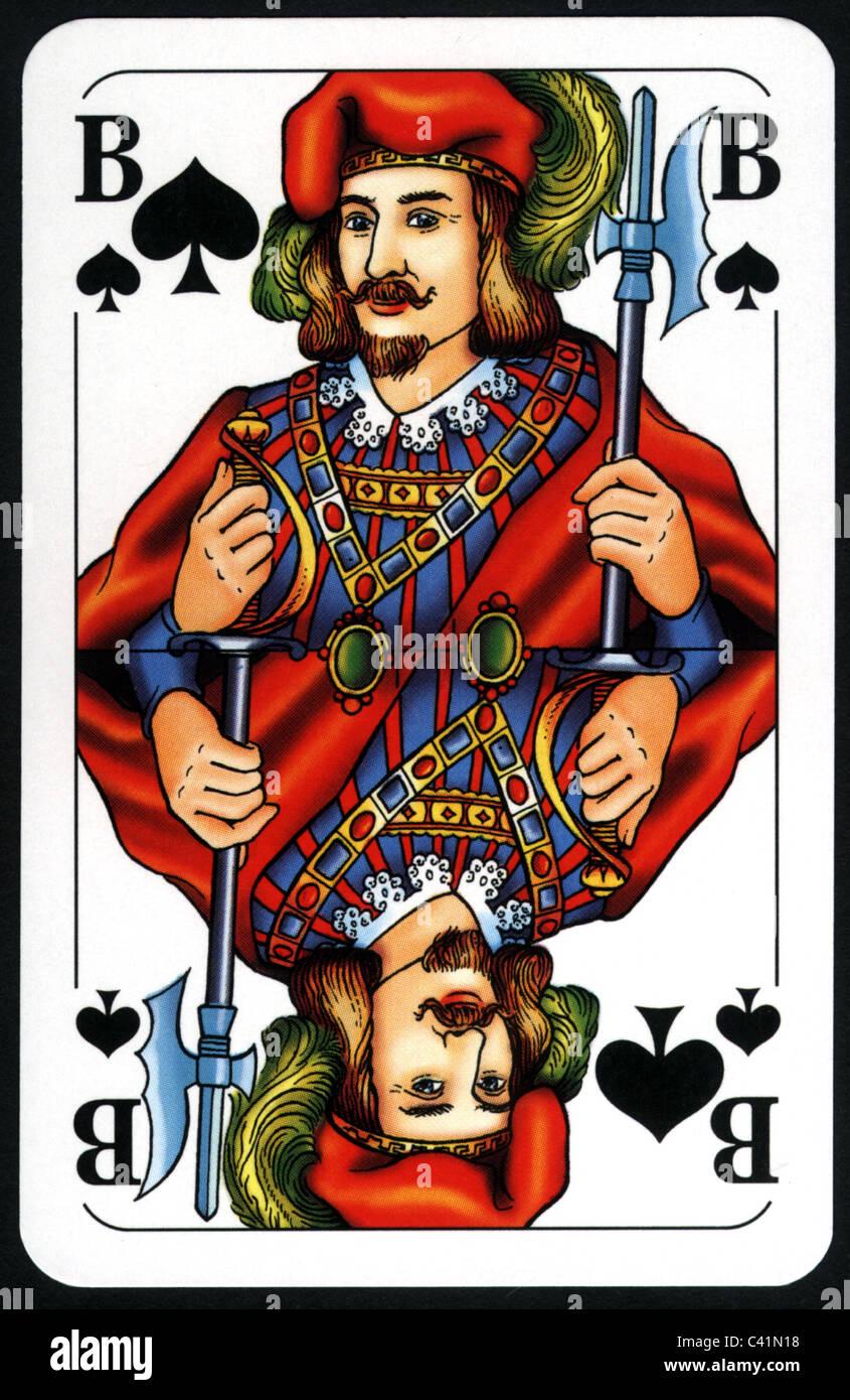 Bube Im Franz. Kartenspiel Rätsel
