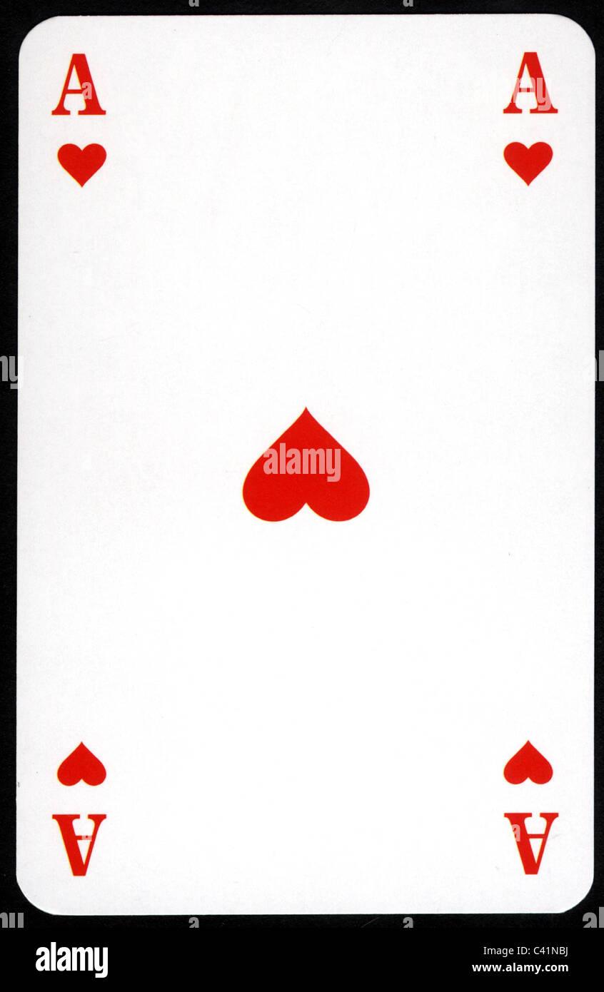 Kartenspiel Herz