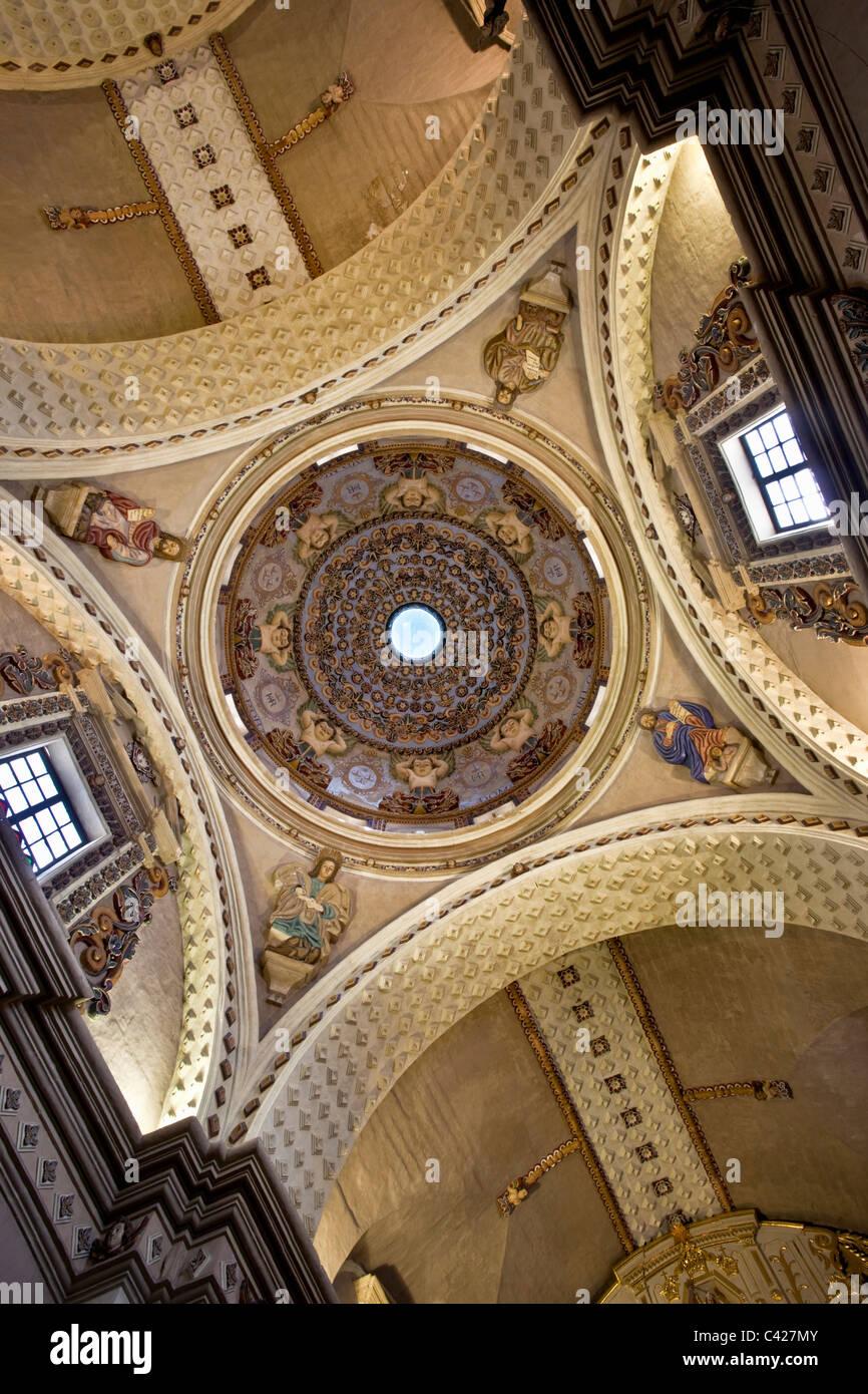 Belen barocke Kirche im kolonialen Komplex von Belen, jetzt Kunstmuseum. Die komplett aus vulkanischen Felsen zwischen Stockbild