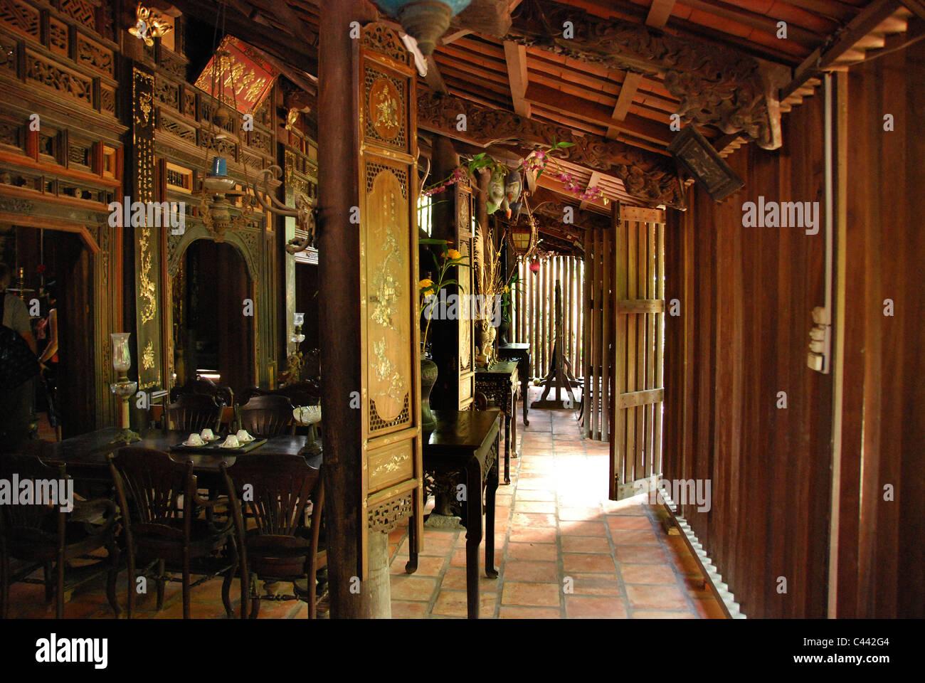 Alten vietnamesischen Haus Interieur Stockfoto, Bild: 36969188 - Alamy