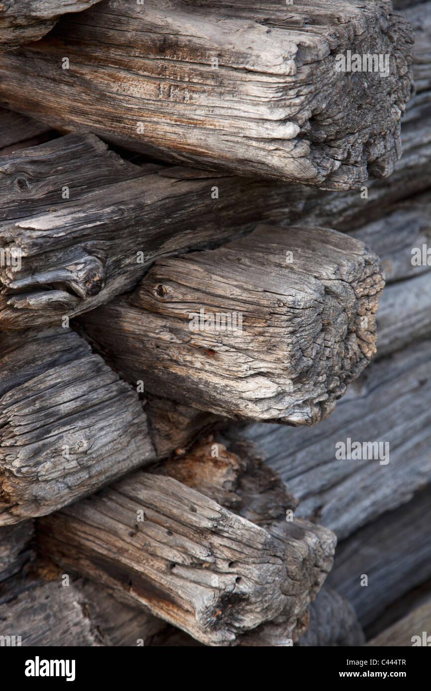 rustic log stockfotos rustic log bilder seite 2 alamy. Black Bedroom Furniture Sets. Home Design Ideas