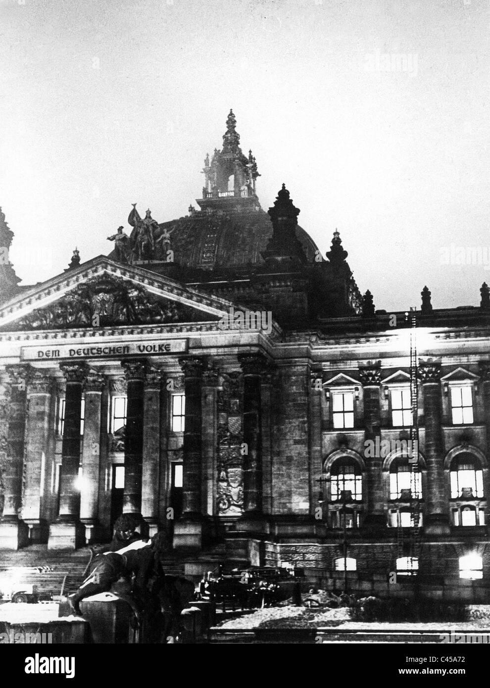 Reichstagsbrand 1933 Stockfoto, Bild: 36997158 - Alamy  Reichstagsbrand...
