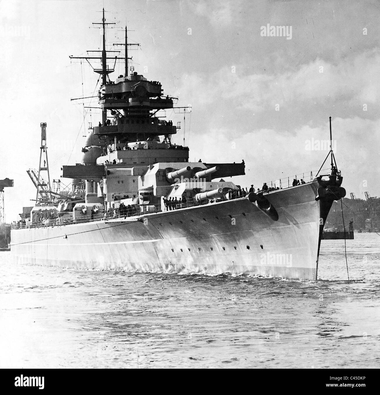 Schlachtschiff Bismarck Stockfotos Schlachtschiff Bismarck Bilder
