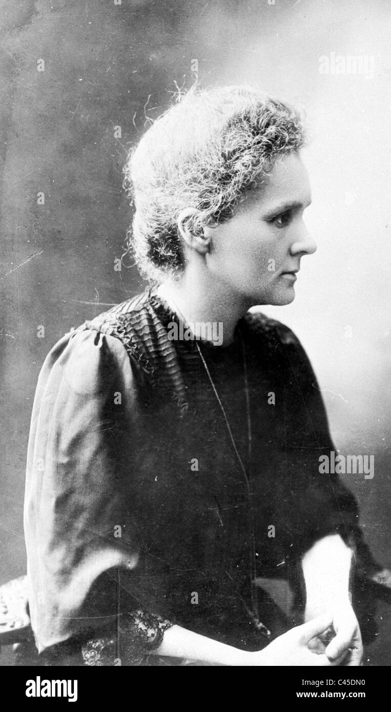Marie Curie, 1911 Stockfoto