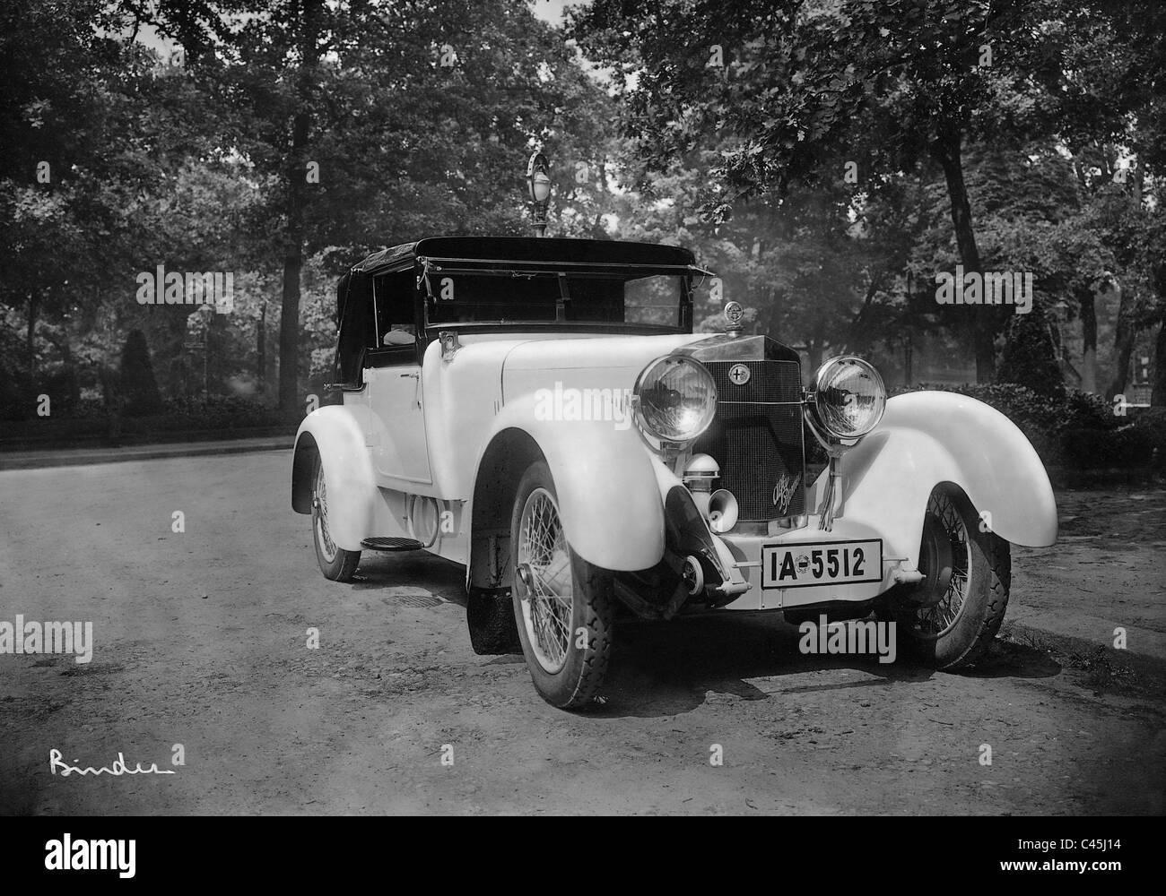 Roadster von Alfa Romeo, 1926 Stockbild