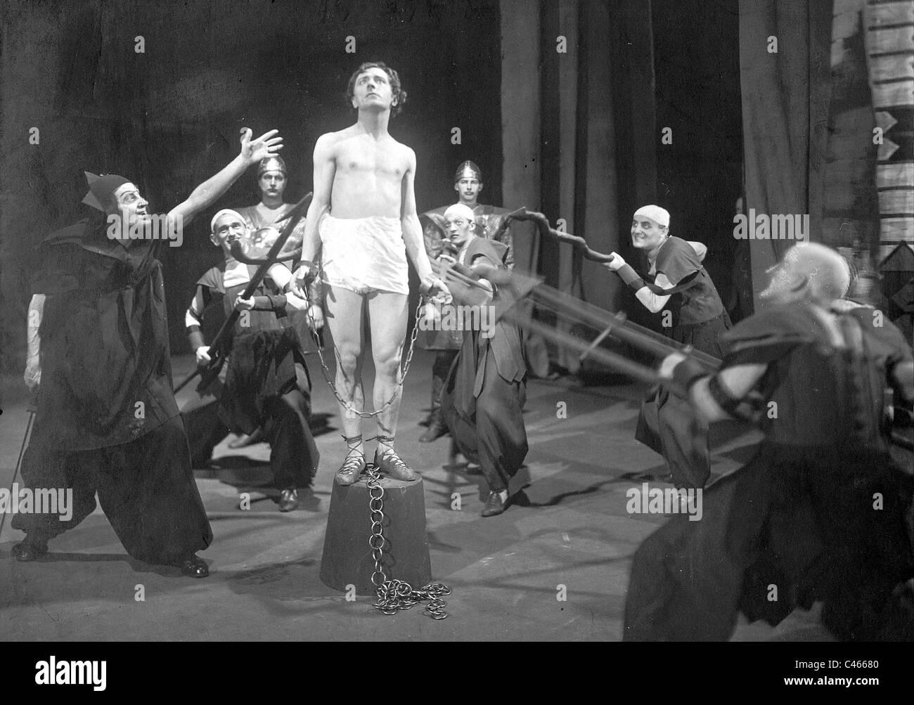 """Szene aus """"Die Legende von Joseph"""" von Richard Strauss, 1921 Stockfoto"""