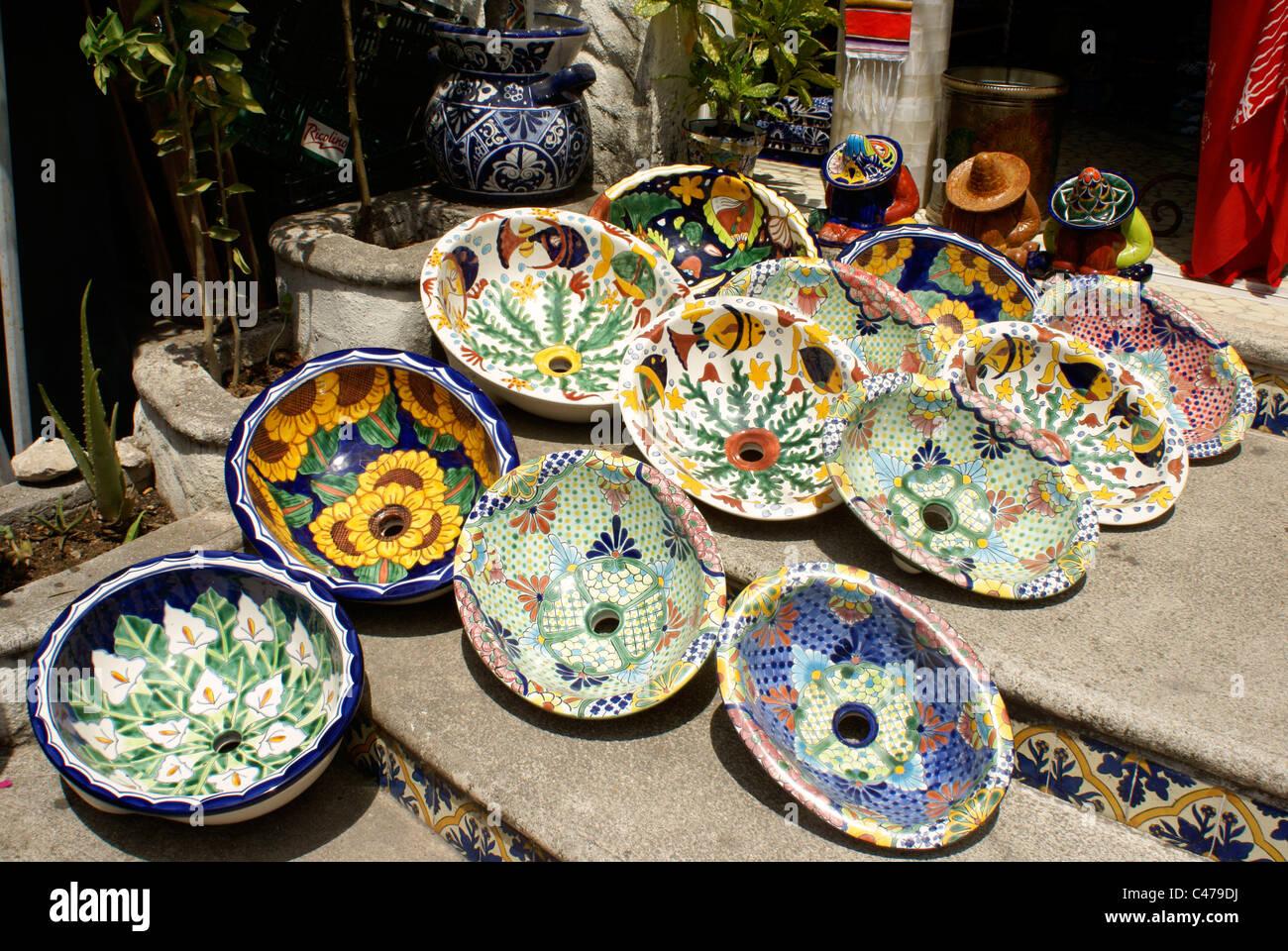 Faszinierend Bunte Waschbecken Ideen Von Keramik Zum Verkauf In Playa Del Carmen,