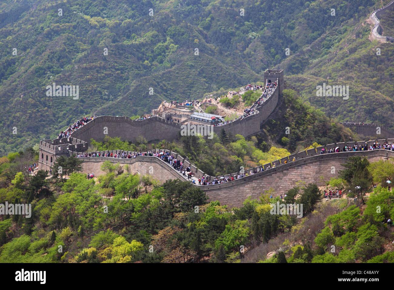 Great Wall Of China, Beijing, China Stockbild