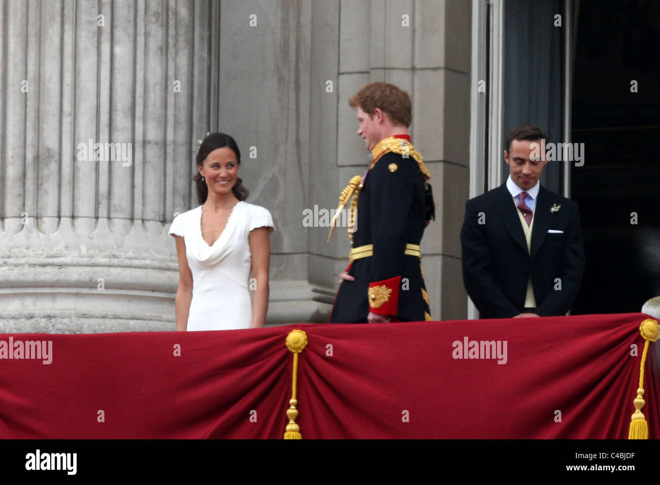 Kate William Wedding Pippa Harry Stockfotos & Kate William ...