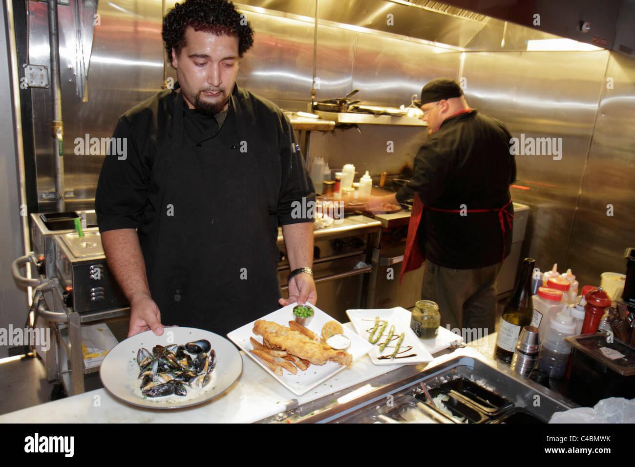 Orlando Florida Sanford Café Rouge Bistro East First Street kochen ...