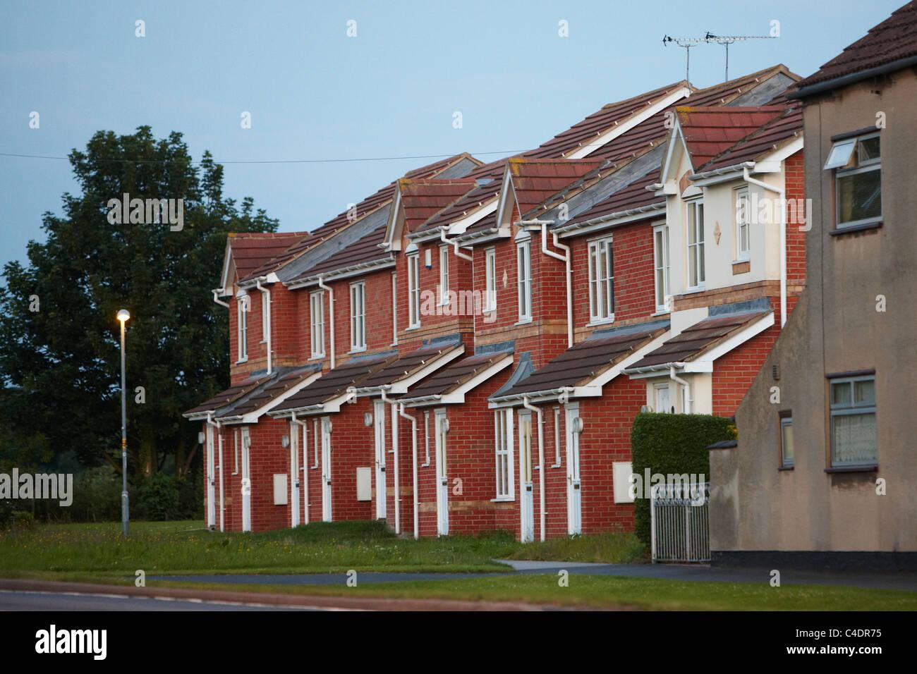 Reihe von modernen Häusern Stockfoto, Bild: 37182969 - Alamy