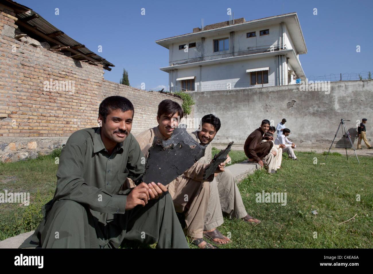 haus in abbottabad pakistan wo bin ladens get tet wurde. Black Bedroom Furniture Sets. Home Design Ideas