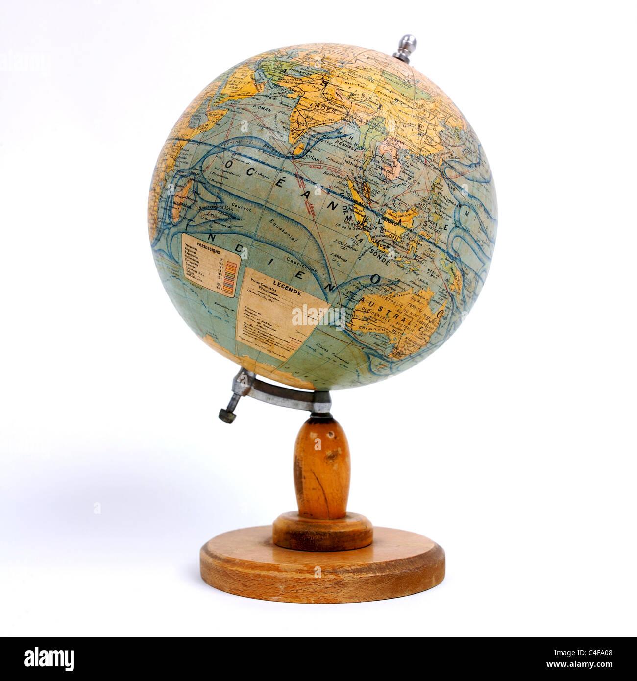 Eine altmodische Welt. Stockbild