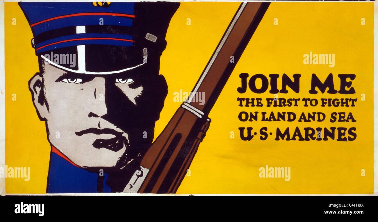 Begleiten Sie mich - die erste, auf Land und Meer zu kämpfen - US ...