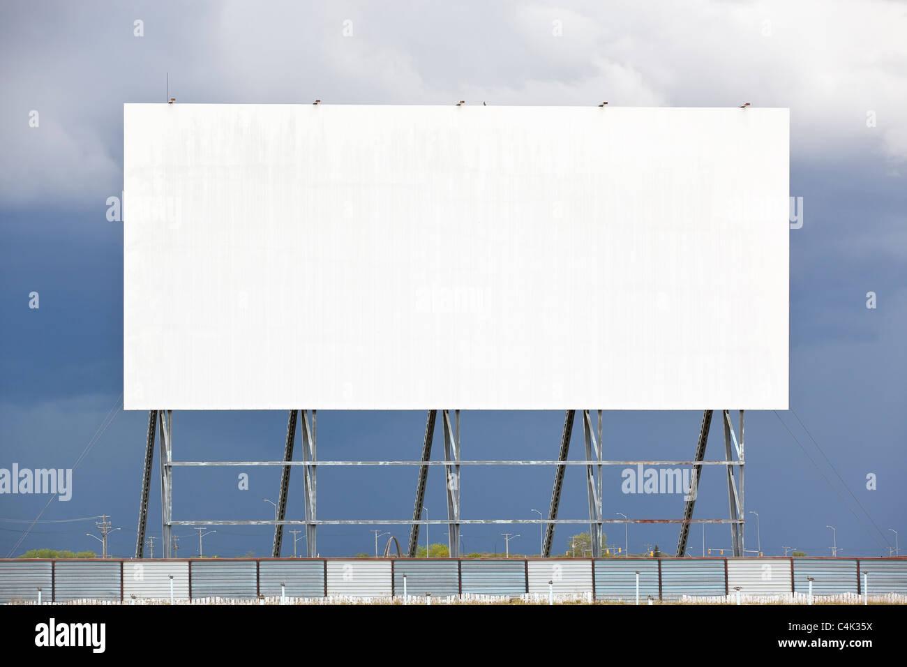 Im freien Drive-in-Kino.  Winnipeg, Manitoba, Kanada. Stockbild