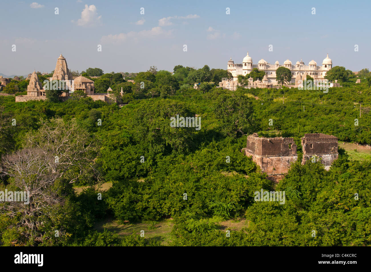 Chittorgarh Fort (auch Chittor, Chittaur oder Chittaurgarh), Rajasthan Zustand, West-Indien, Asien Stockbild