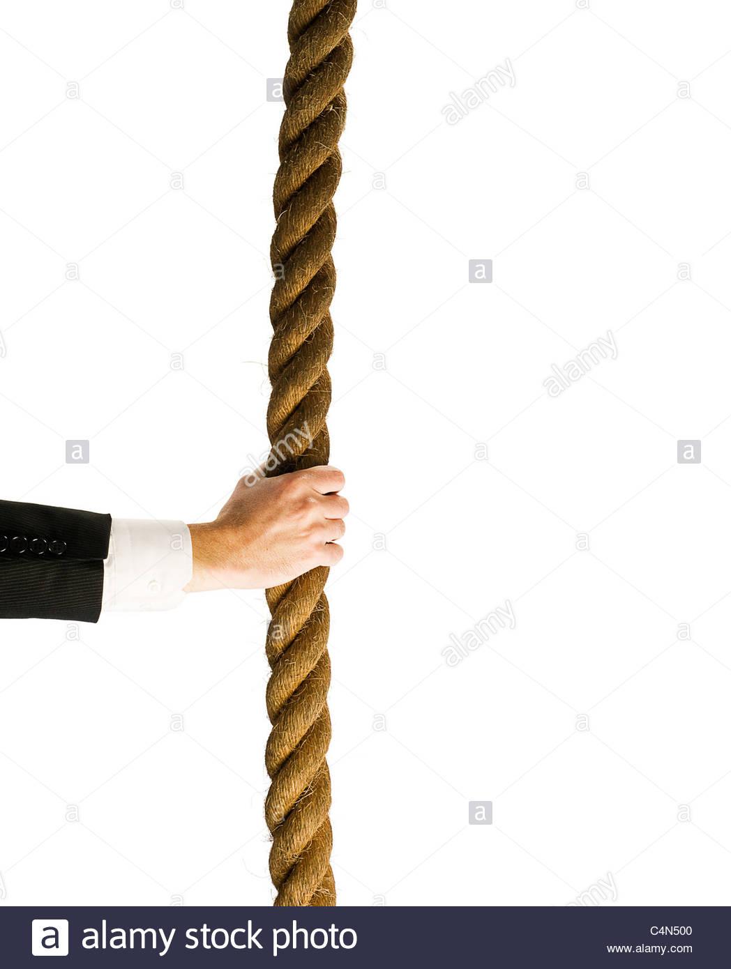 Seil greifen Stockfoto, Bild: 37344272 - Alamy