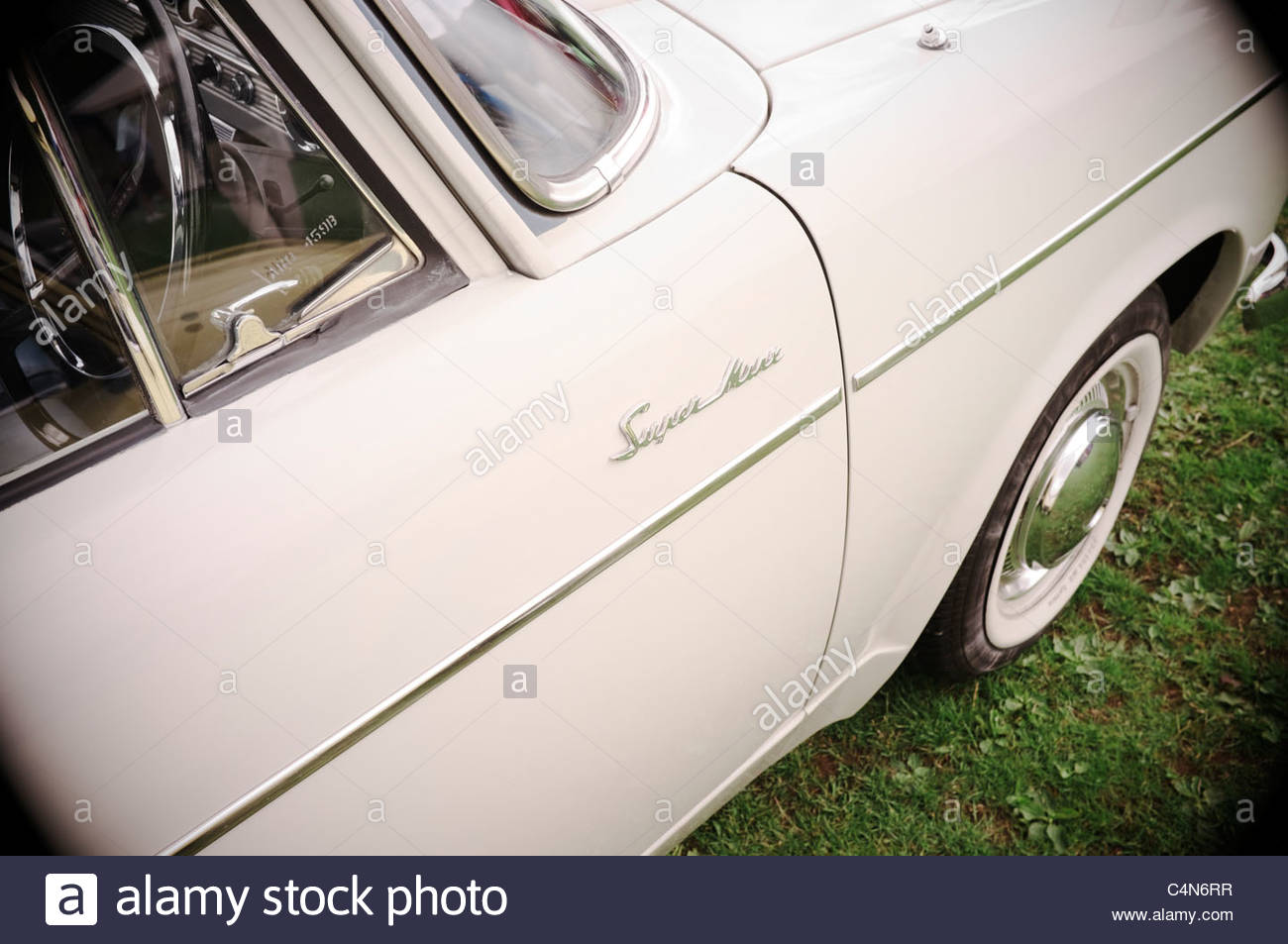 Hillman Super Minx Auto, UK. Stockbild
