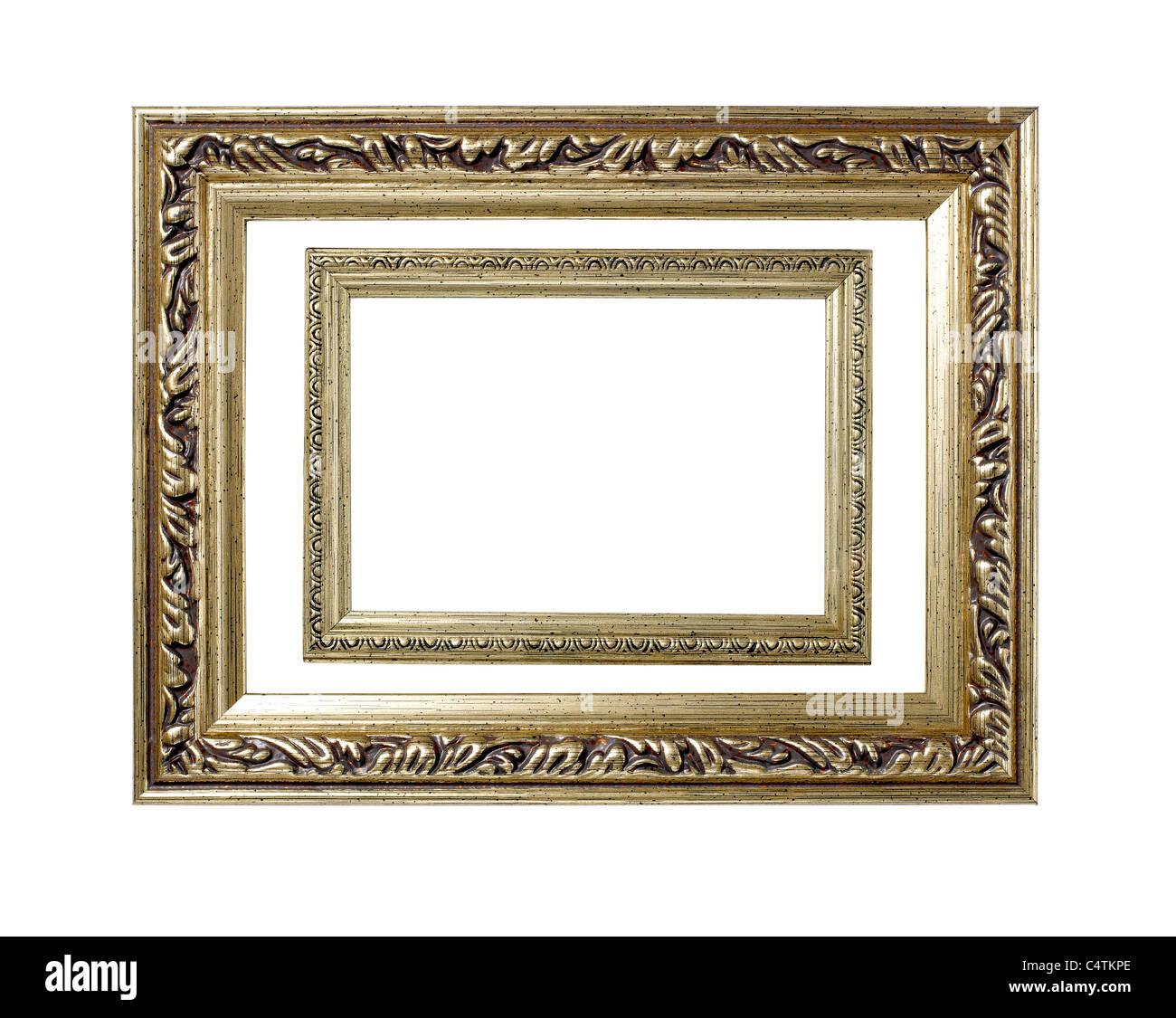 Gold Bilderrahmen Stockfoto, Bild: 37421734 - Alamy