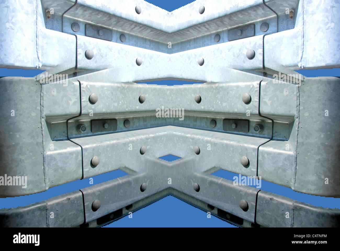 Zink-Introspektion Stockbild