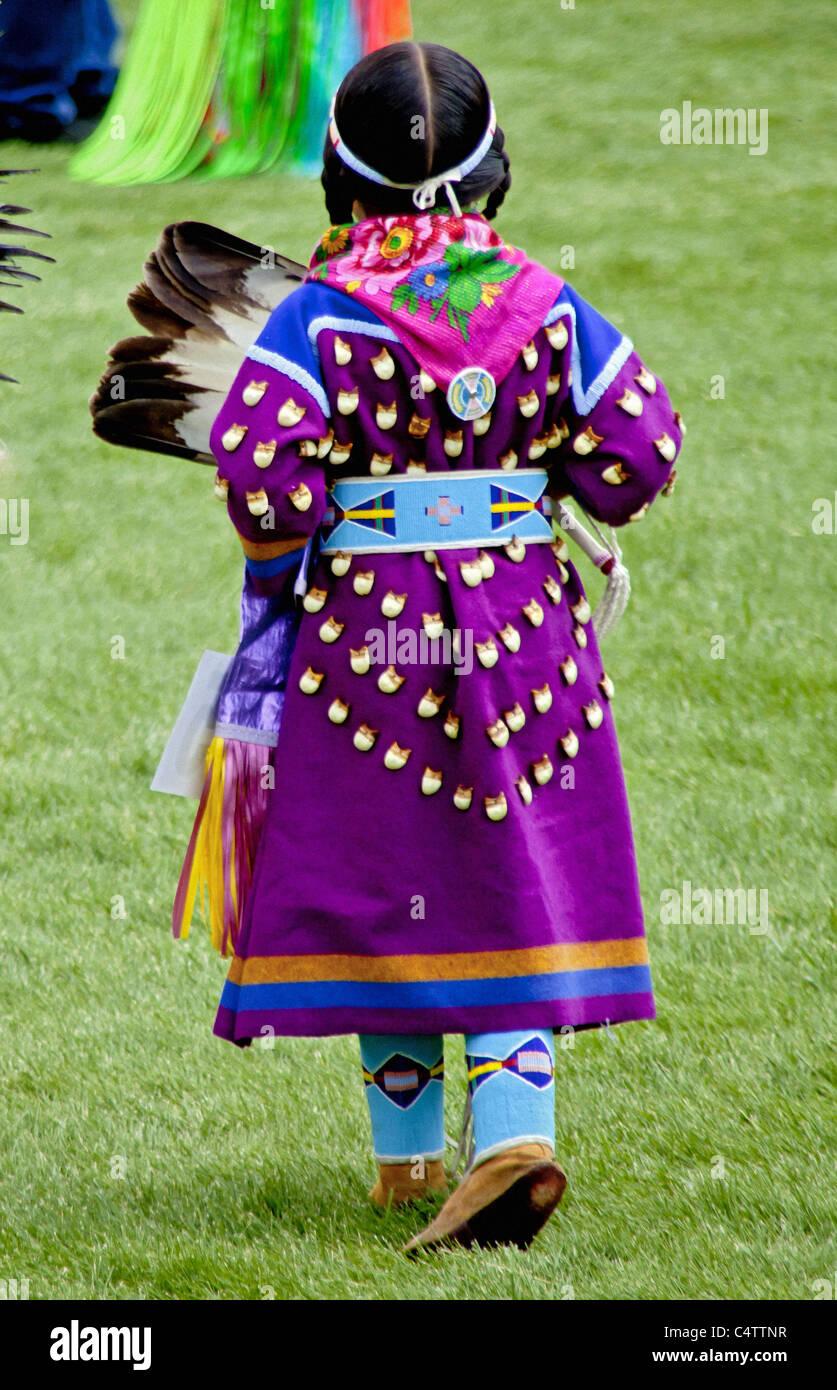 Einheimische Nordamerikanische Ethnie Stockfotos