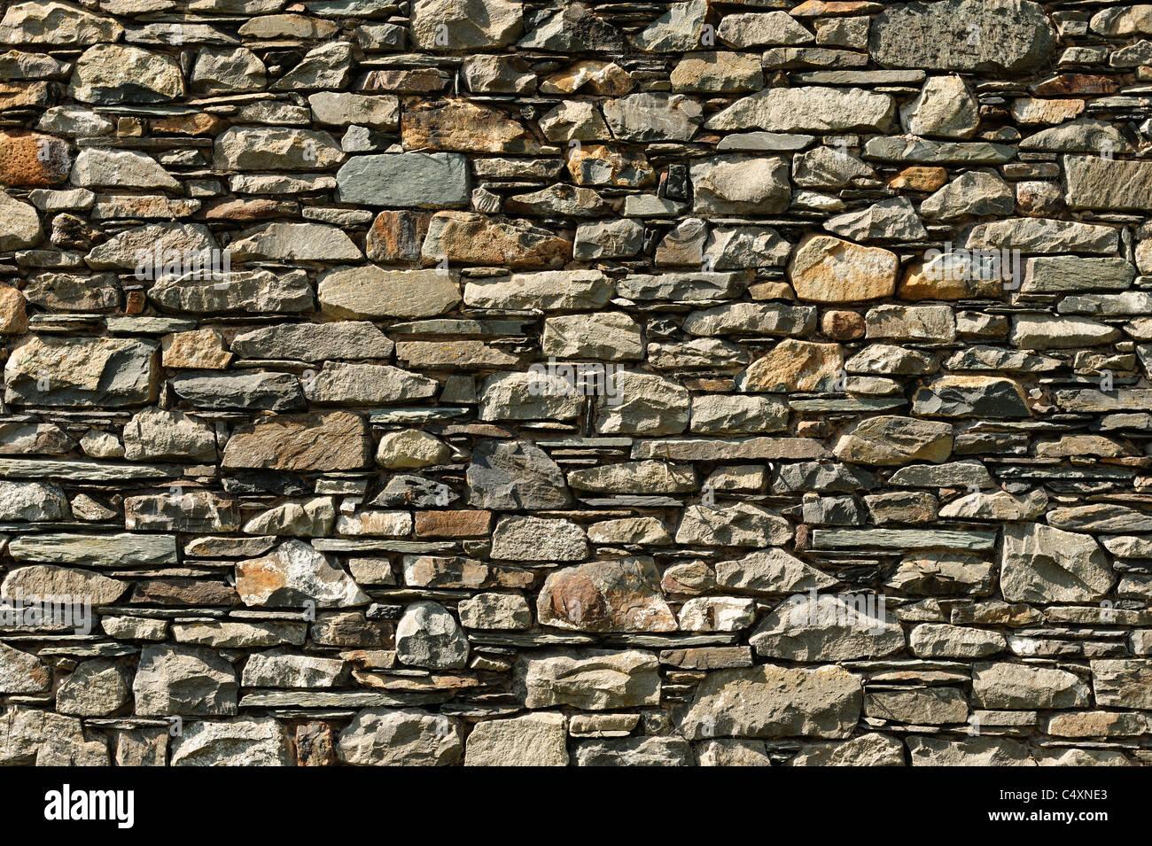 Steinmauer Stockbild