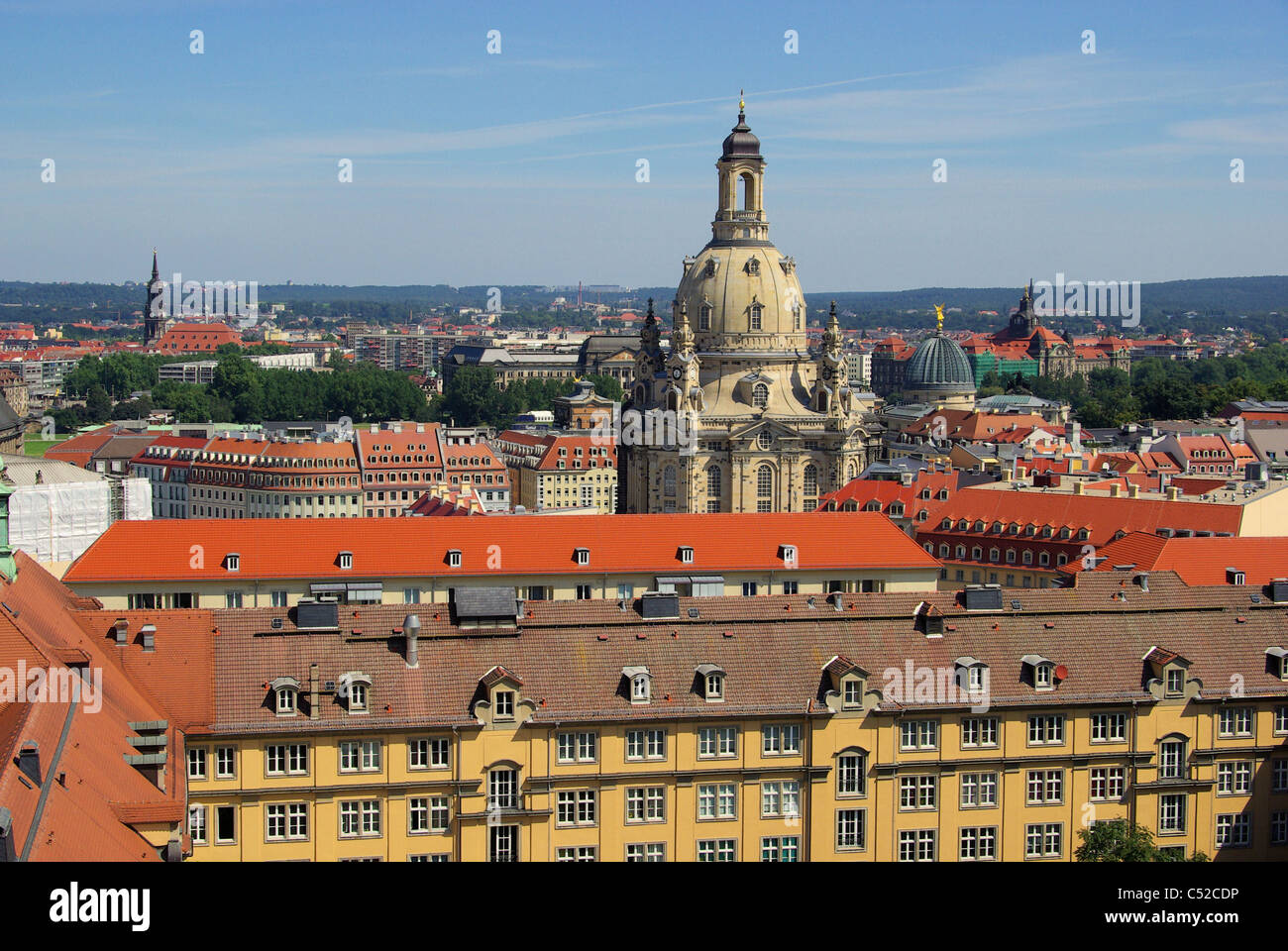 dresdner frauenkirche dresden kirche unserer lieben frau 22 stockfoto bild 37547714 alamy. Black Bedroom Furniture Sets. Home Design Ideas
