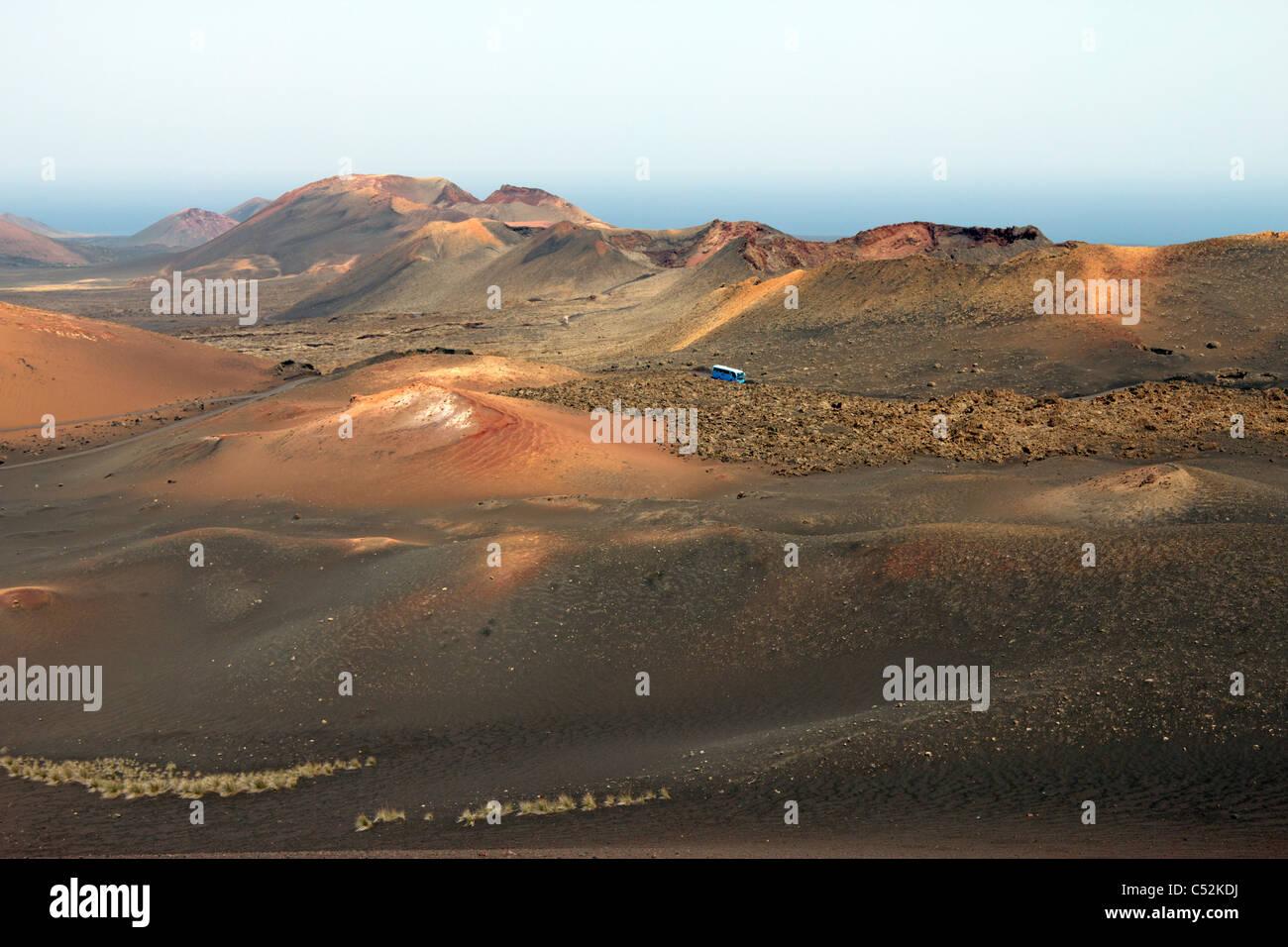 Nationalpark Timanfaya - Lanzarote - Kanarische Inseln Stockbild