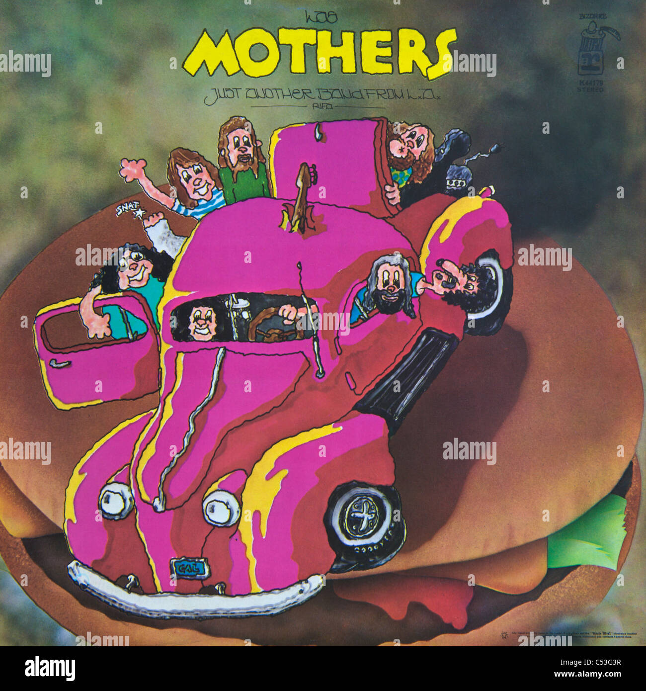 Frank Zappa Mothers Invention Us Stockfotos Amp Frank Zappa