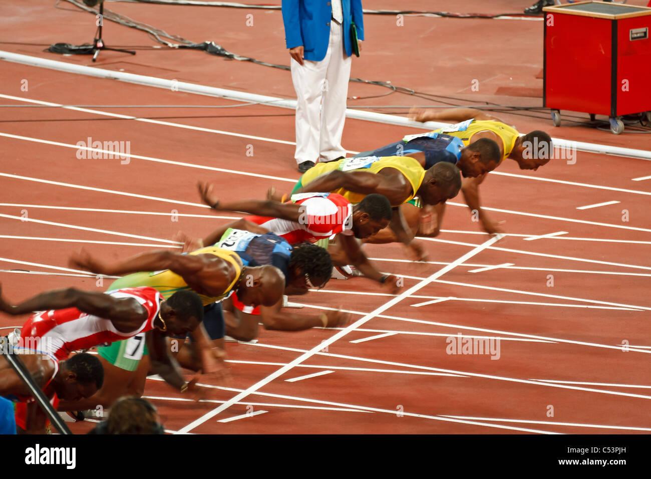 Weltrekord 100m Sprint