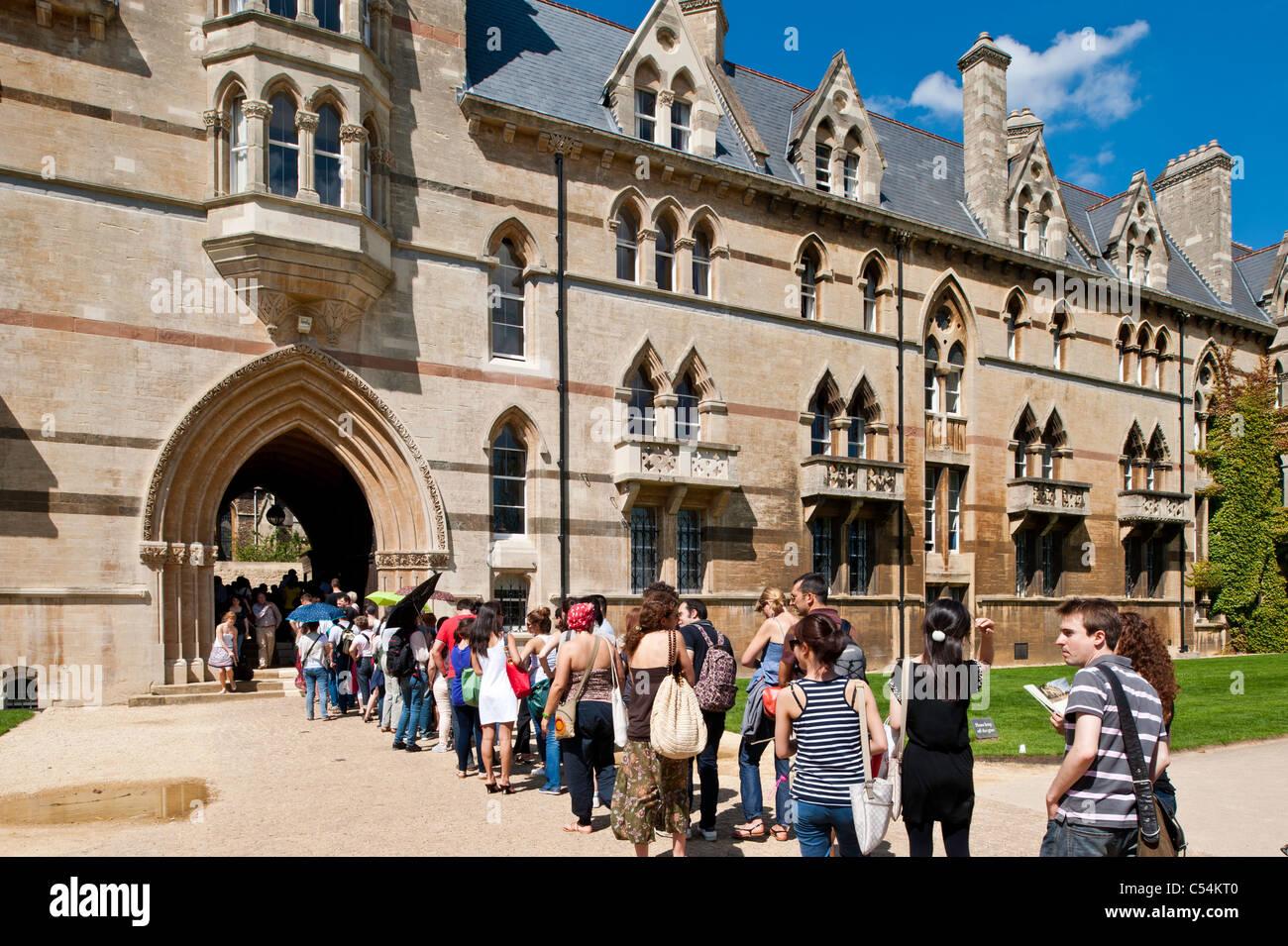 Christ Church, Oxford, Oxfordshire, Vereinigtes Königreich Stockbild