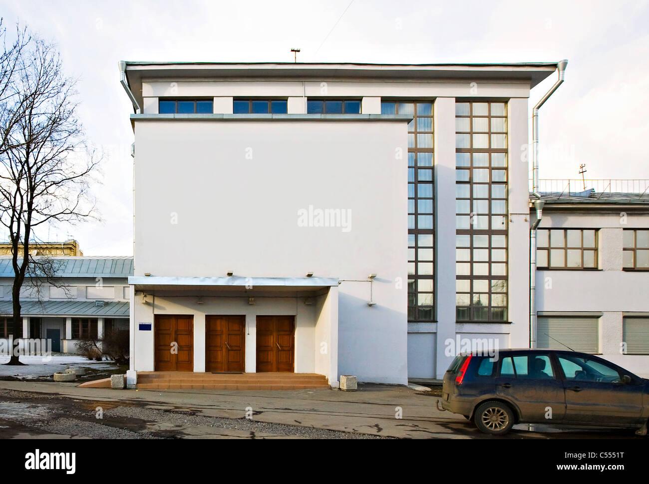 Konstruktivismus Architektur: Russischen Sowjetischen Konstruktivistische Architektur