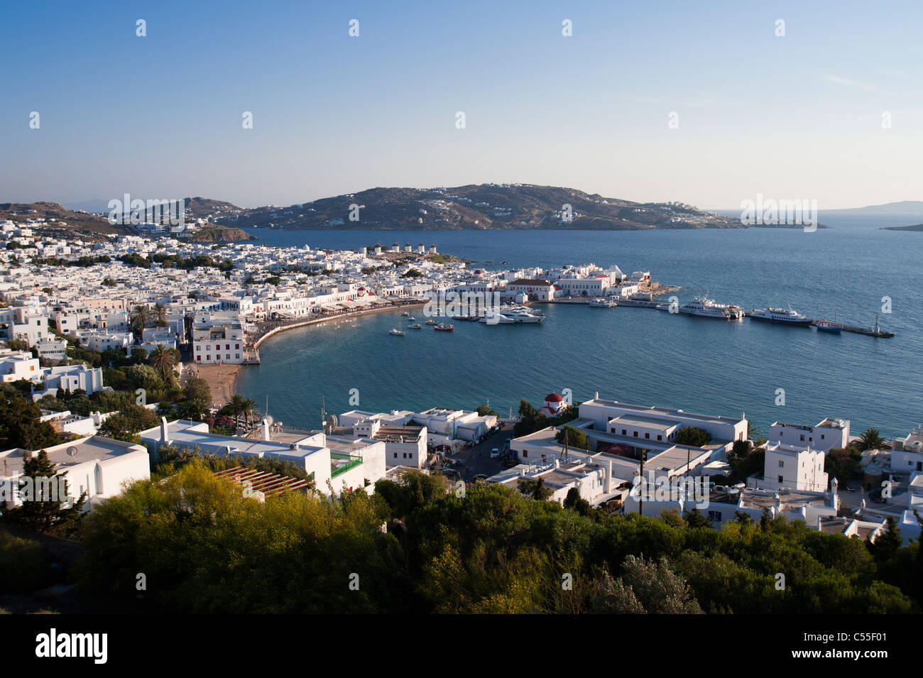 mykonos house stockfotos mykonos house bilder alamy. Black Bedroom Furniture Sets. Home Design Ideas