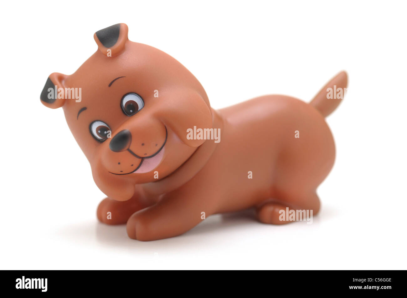 Spielzeug Hund Welpe, Pet Stockbild