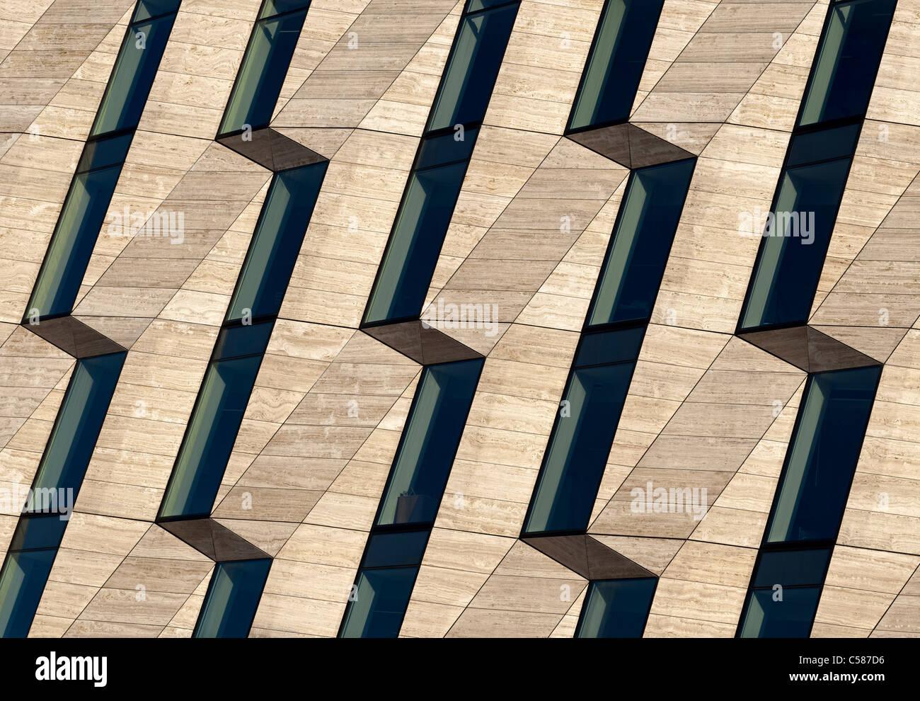 Horten-Bürogebäude Stockbild