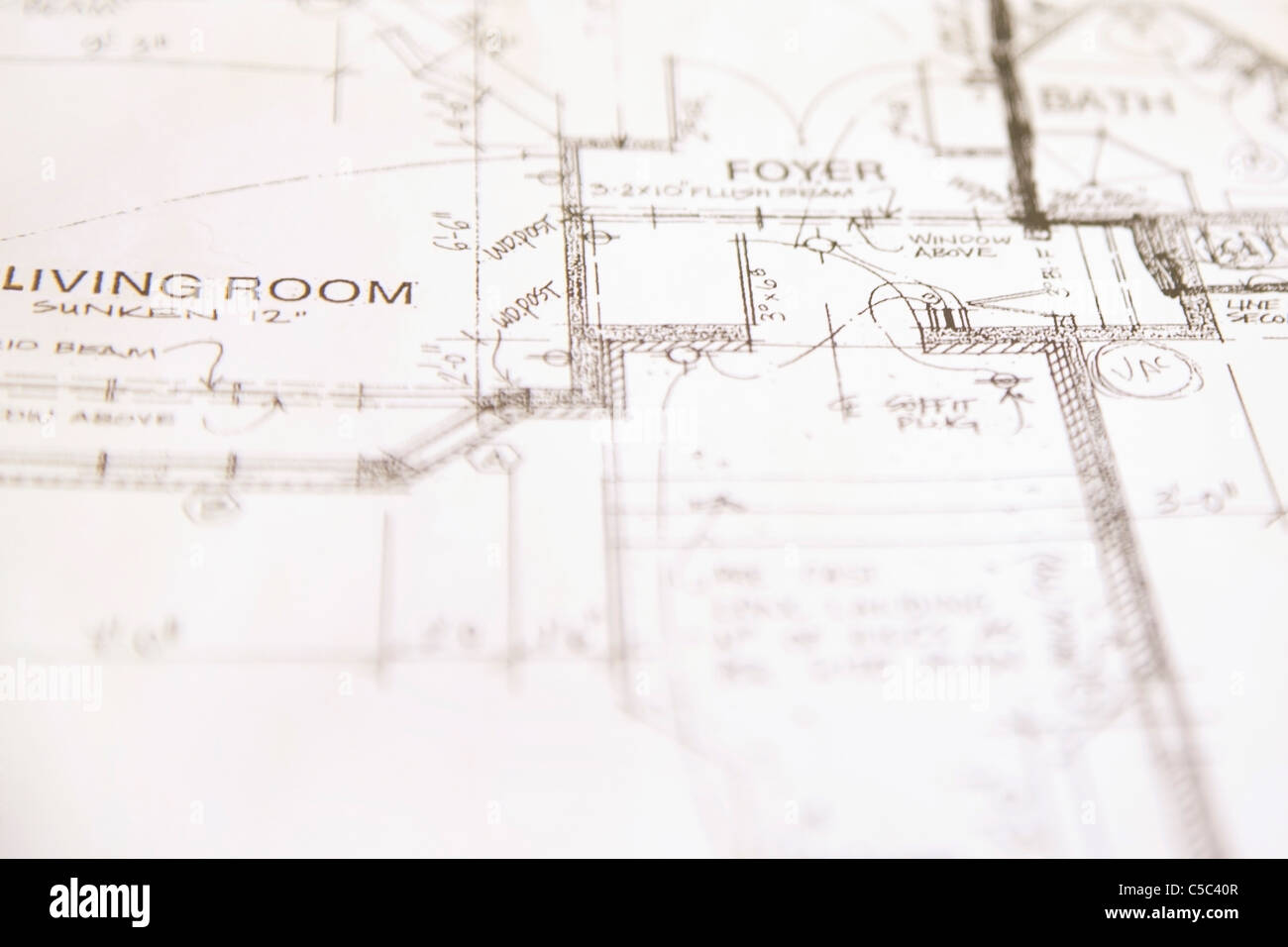 Floor Plan Stockfotos & Floor Plan Bilder - Alamy