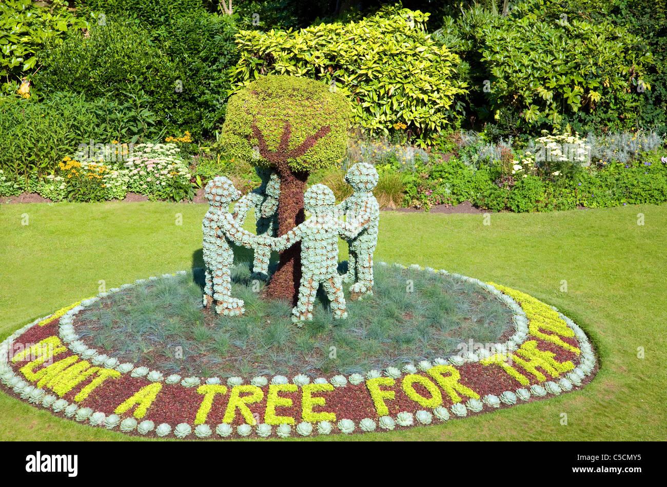 Parade Gardens, Bath, England Stockbild