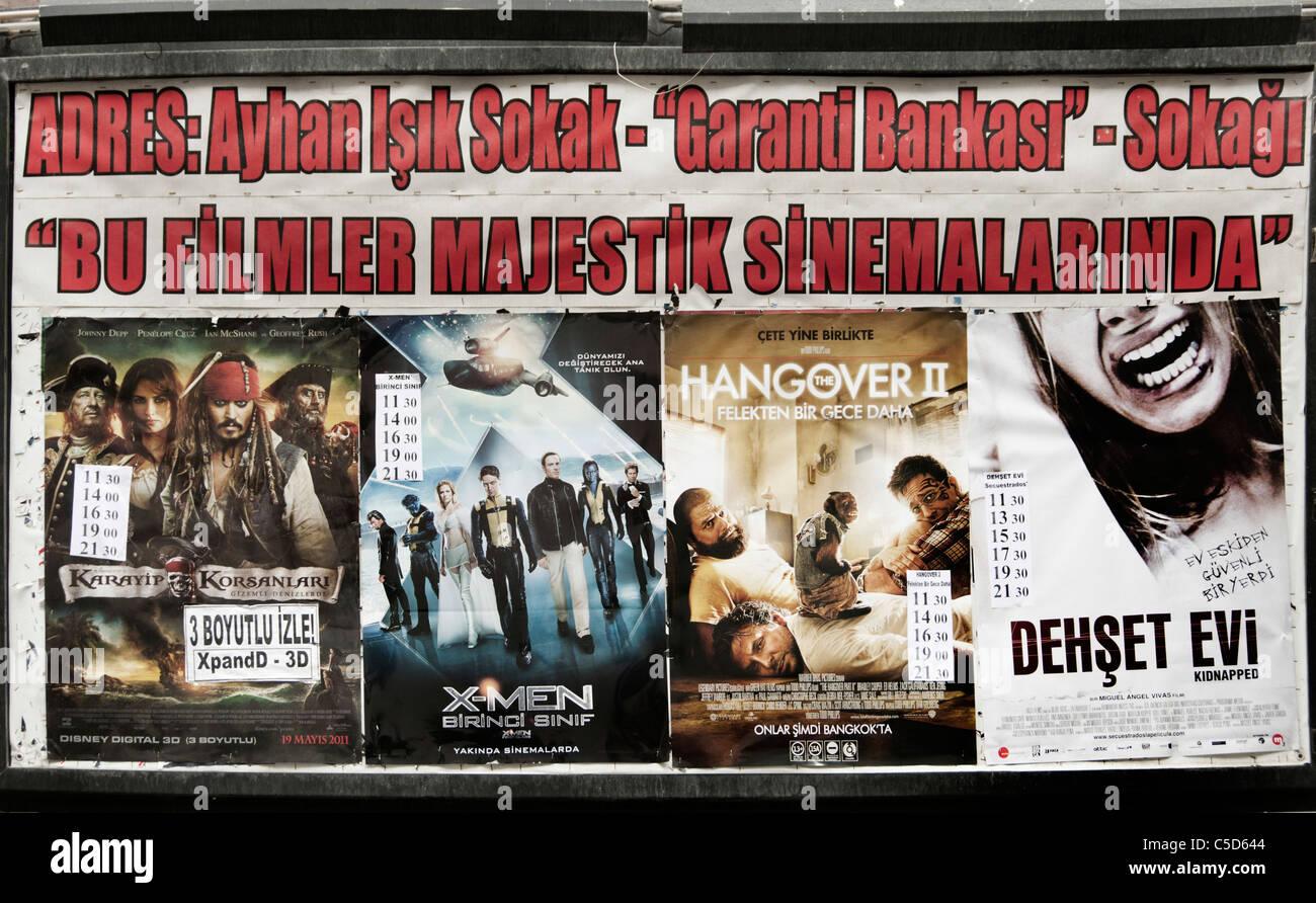 Istanbul Türkei Kino Movie Picture Show Film Filme Stockbild