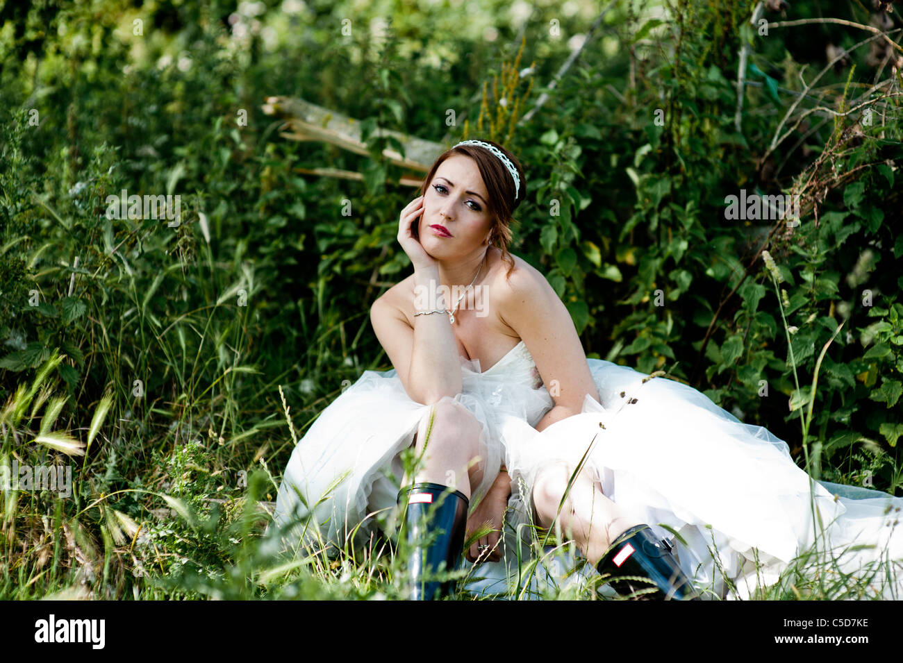 Bride Boots Stockfotos & Bride Boots Bilder - Alamy