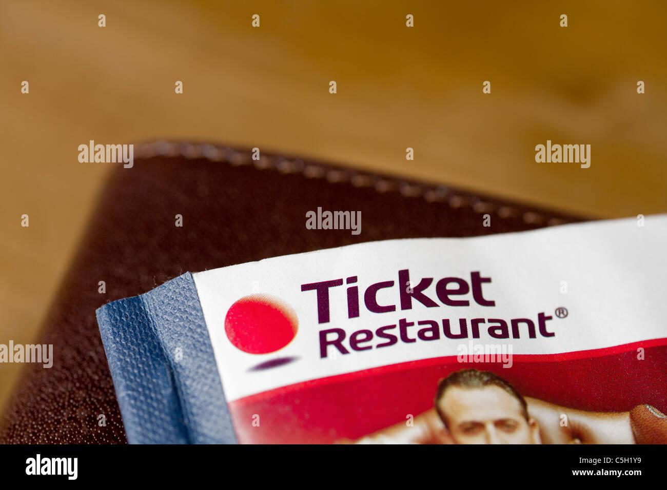 Meal Ticket Stockfotos & Meal Ticket Bilder - Alamy