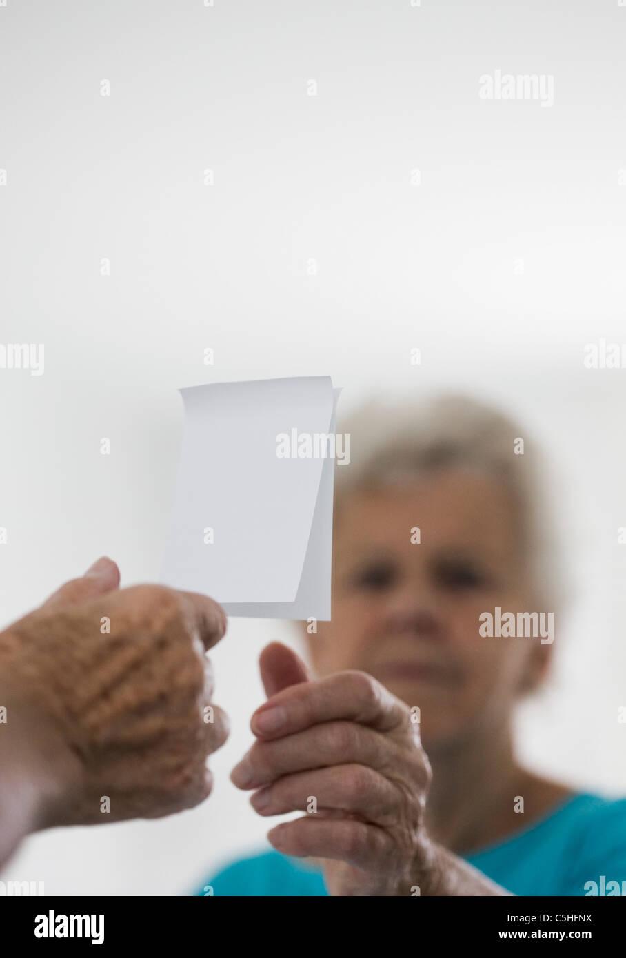 Alzheimer-Krankheit, Konzeptbild Stockbild