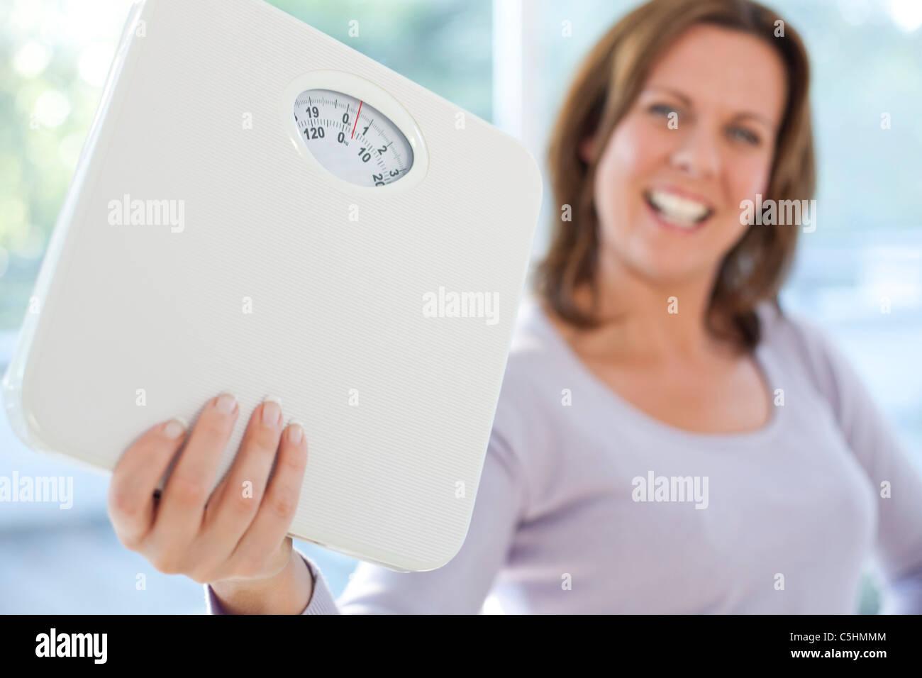 Gewicht-Verlust Stockbild