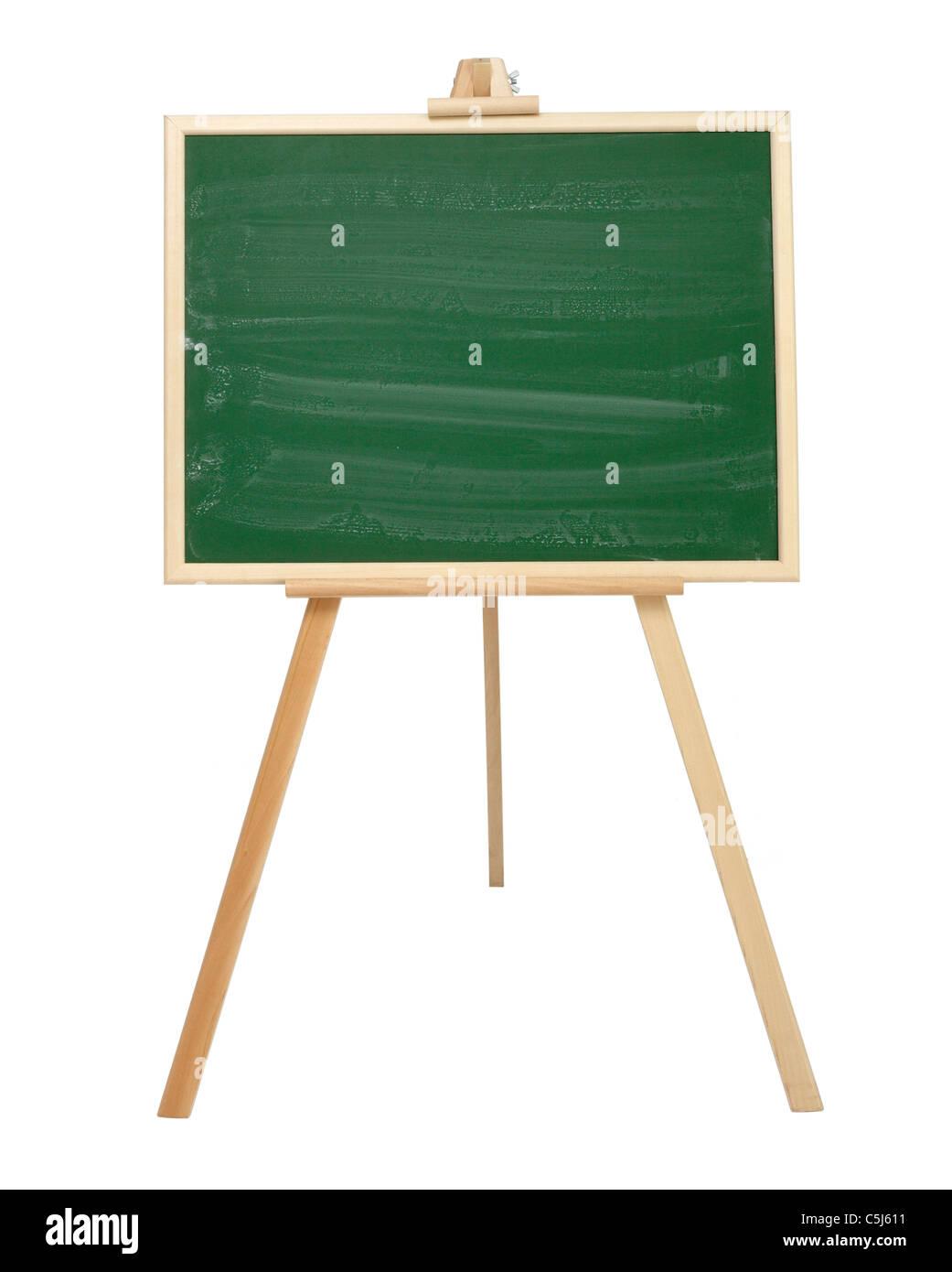 Nahaufnahme von einer Tafel Stockbild