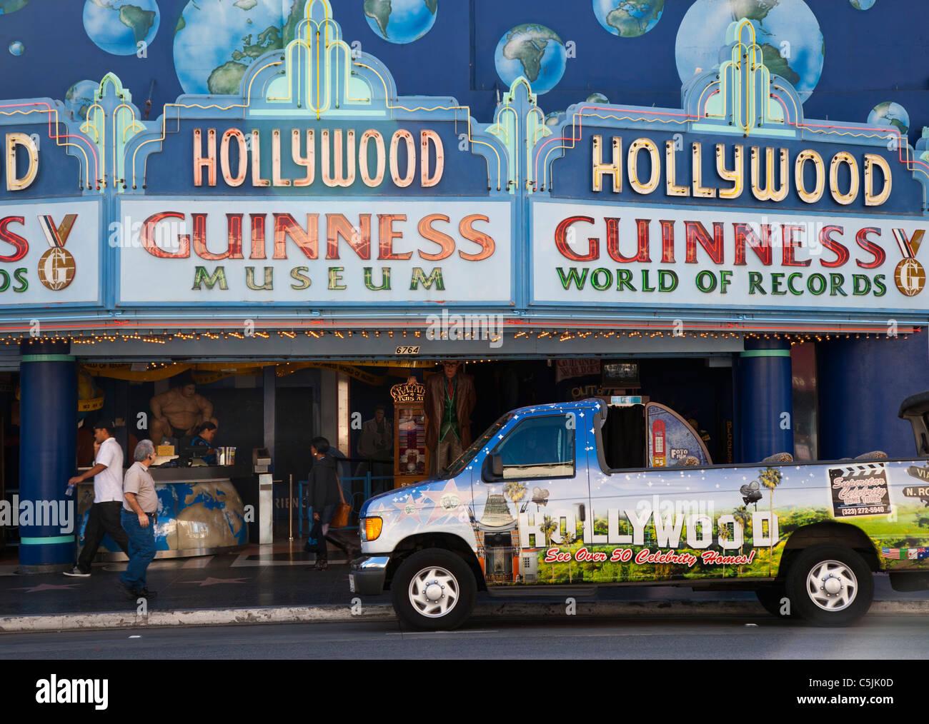 Guinness Museum in Hollywood, Los Angeles, Kalifornien, USA Stockbild